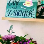 """We had cake and laughter."" {my sentence for the year}"